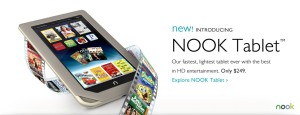 The new Nook tablet
