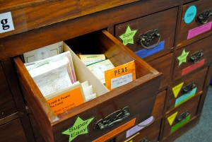 Richmond Seed Library Seed Drawers