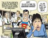 Superman in the newsroom
