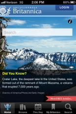 Encylopedia Britannica iPhone App