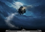 Image of flying motorcycle from Pottermore