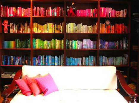 Color Bookcase
