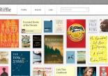 Riffle books homepage