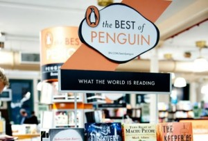 Penguin store display