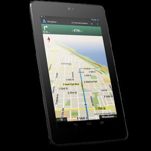 the Nexus 7 tablet
